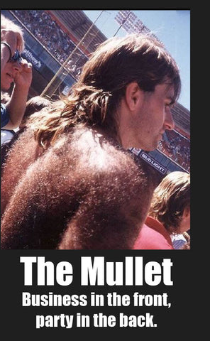 The Mullet means Business