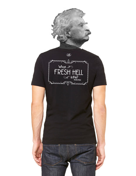 What Fresh Hell is this? - Men's Edition - Black - Back