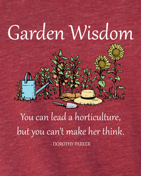 Garden Wisdom - Men's Edition - Cardinal Red Heathered - Both