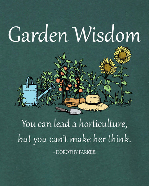 Garden Wisdom - Men's Edition - Forest Green Heathered - Both