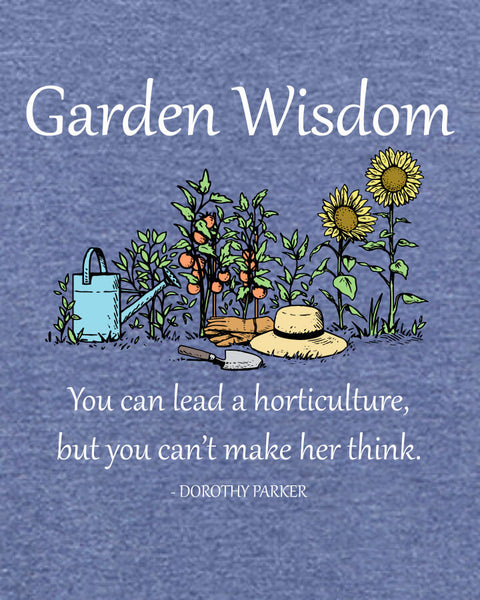 Garden Wisdom - Men's Edition - Navy Blue Heathered - Both