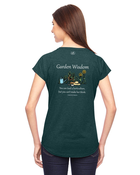 Garden Wisdom - Women's Edition - Dark Green Heathered