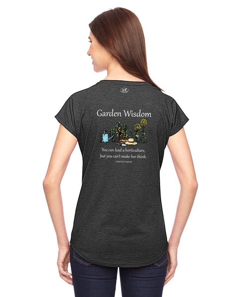 Garden Wisdom - Women's Edition - Dark Grey Heathered