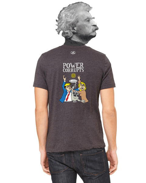 Election 2016: Power Corrupts - Men's Edition - Dark Grey Heathered