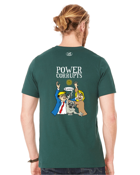 Election 2016: Power Corrupts - Men's Edition - Forest Green Heathered