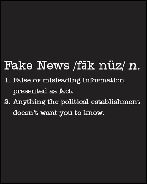 Fake News - Women's Edition - Black