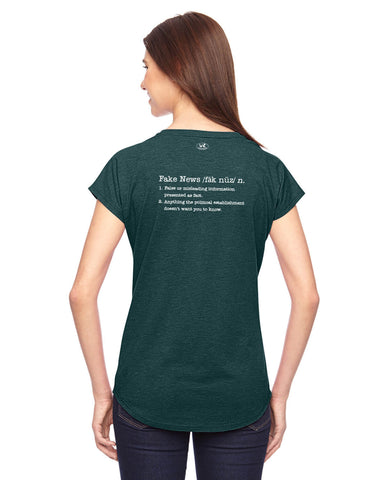 products/Fake-News-Tee-Shirt-Womens-Dark-Green-Back.jpg