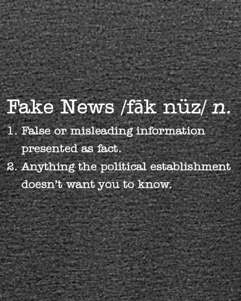 Fake News - Women's Edition - Dark Grey Heathered