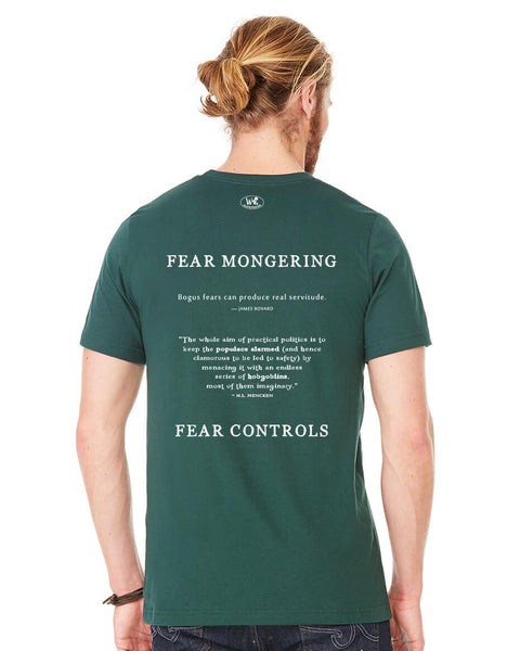 Fear Mongering - Men's Edition - Forest Green Heathered