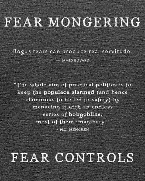 Fear Mongering - Women's Edition - Dark Grey Heathered
