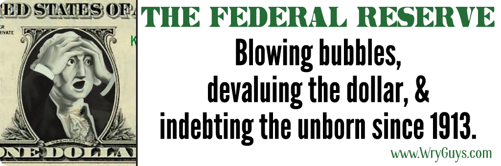 The federal reserve bumper sticker