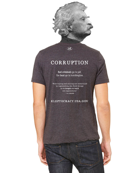 Corruption - Men's Edition - Dark Grey Heathered