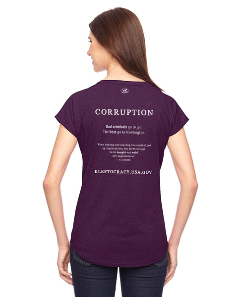 Corruption - Women's Edition - Aubergine Heathered