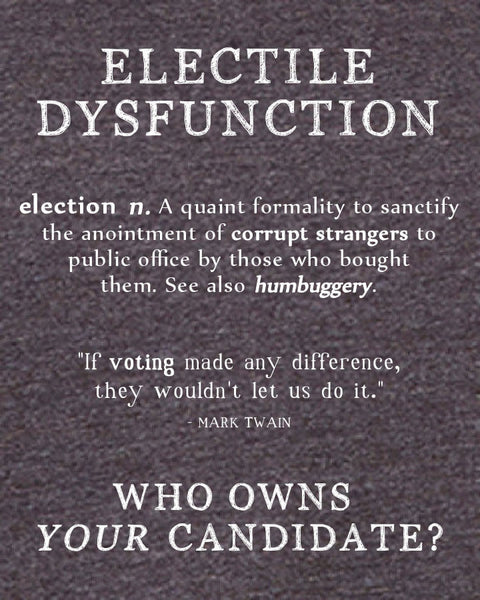 Electile Dysfunction - Men's Edition - Dark Grey Heathered