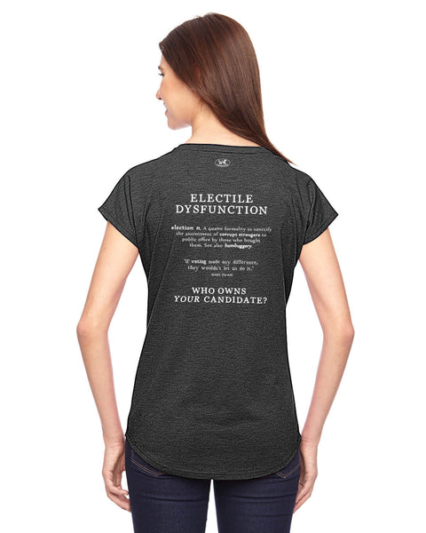 Electile Dysfunction - Women's Edition - Dark Grey Heathered