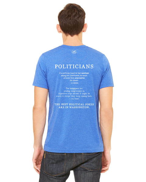 Politicians - Men's Edition - Royal Blue Heathered