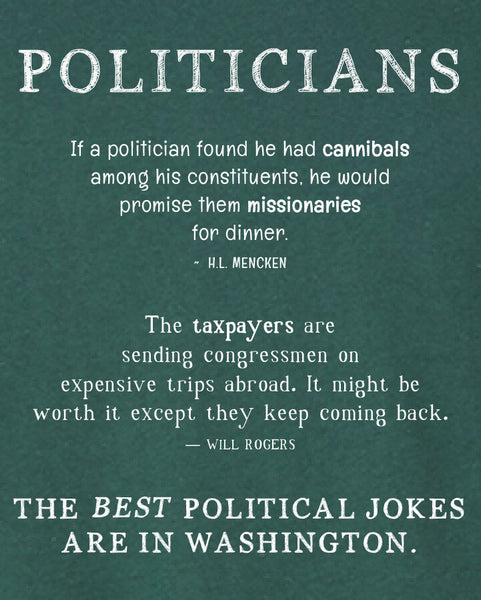 Politicians - Men's Edition - Forest Green Heathered