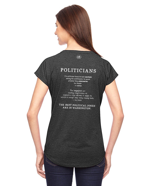 Politicians - Women's Edition - Dark Grey Heathered