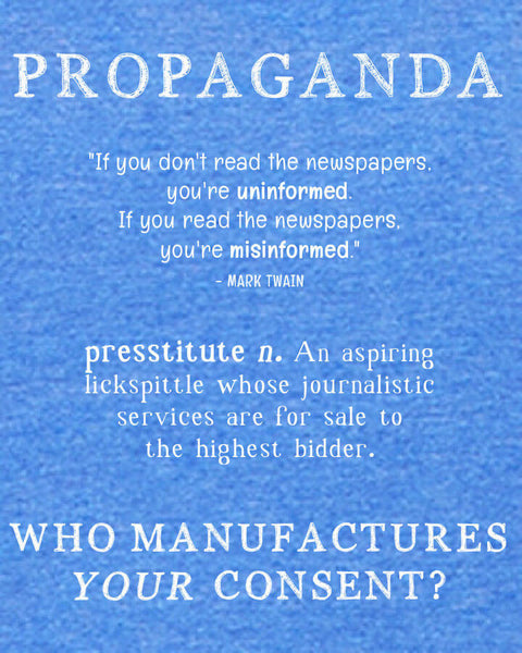 Propaganda - Men's Edition - Royal Blue Heathered
