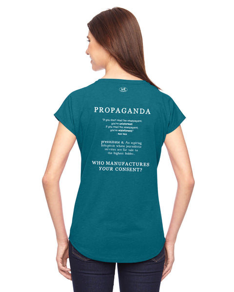 Propaganda - Women's Edition - Galapagos Blue Heathered