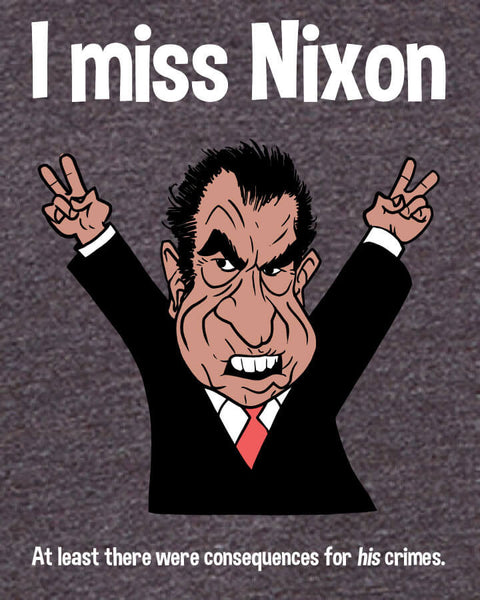 I miss Nixon - Men's Edition - Dark Grey Heathered - Both
