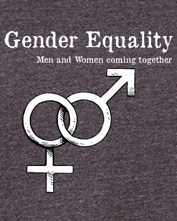 Gender Equality - Men's Edition - Dark Grey Heathered - Both