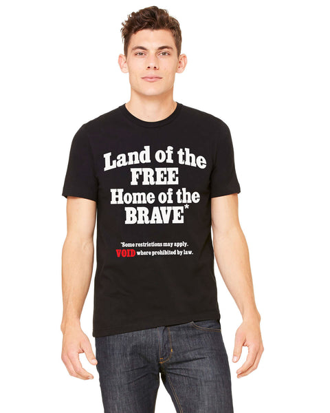 Land of the Free? - Men's Edition - Black - Front