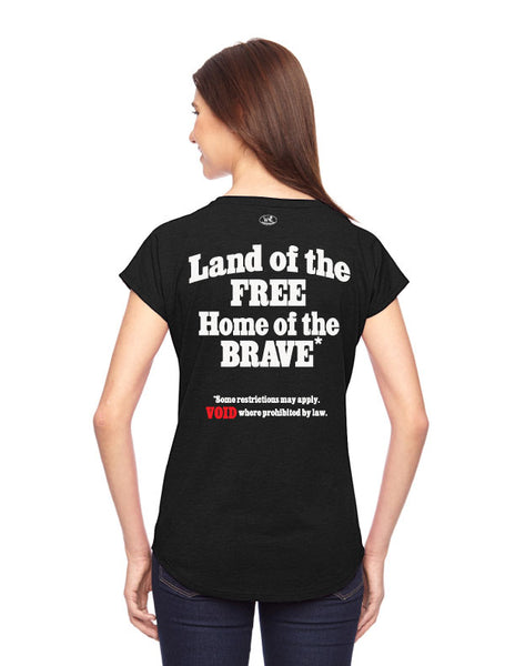 Land of the Free? - Women's Edition - Black