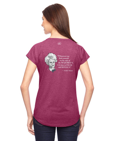 products/Mark-Twain-Majority-Tee-Shirt-Womens-Raspberry-Back..jpg