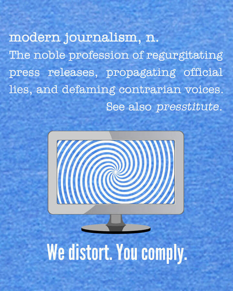 Modern Journalism - Men's Edition - Royal Blue Heathered