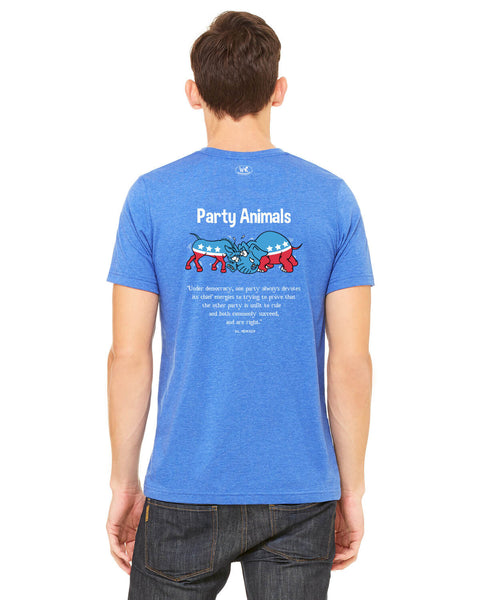 Party Animals - Men's Edition - Royal Blue Heathered
