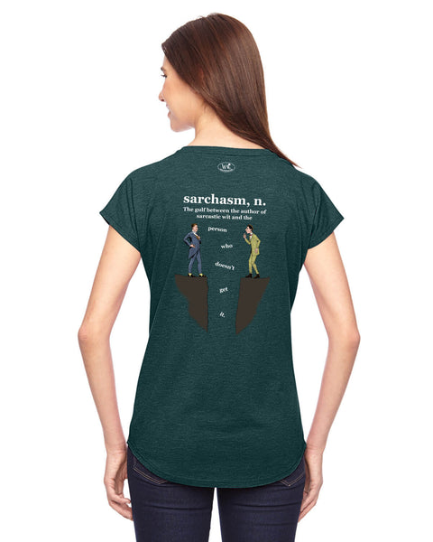 Sarchasm - Women's Edition - Dark Green Heathered