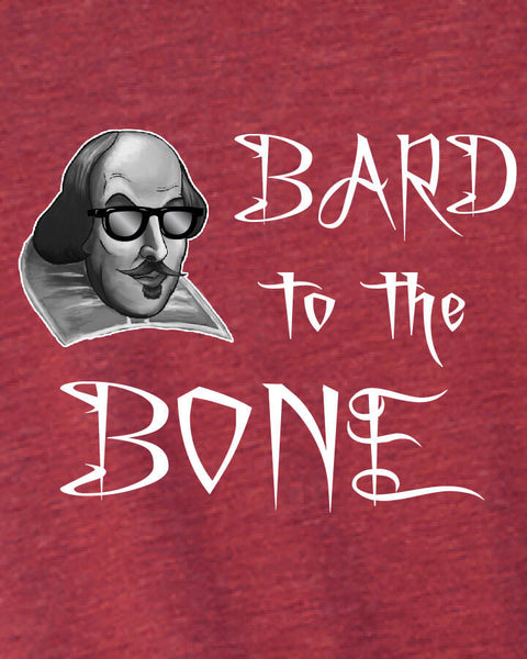 Bard to the Bone - Men's Edition - Cardinal Red Heathered - Both