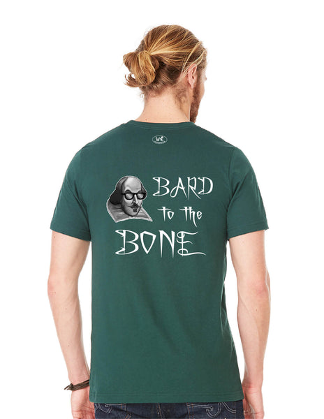 Bard to the Bone - Men's Edition - Forest Green Heathered - Back
