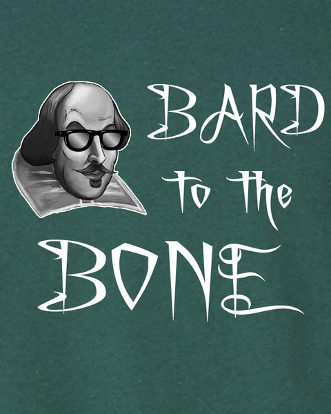 Bard to the Bone - Men's Edition - Forest Green Heathered - Both
