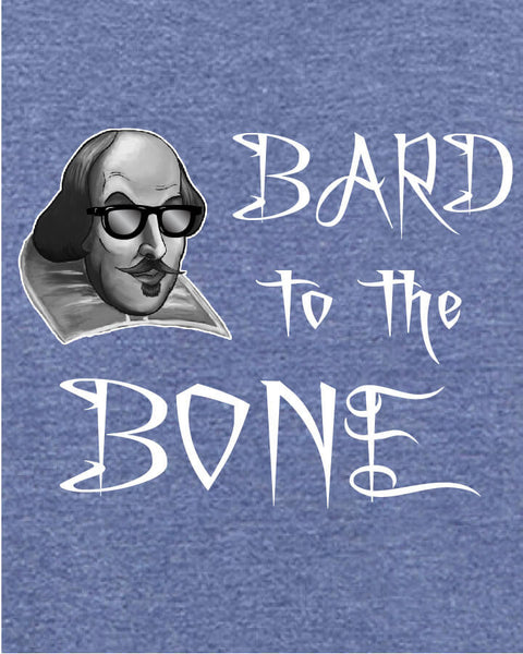 Bard to the Bone - Men's Edition - Navy Blue Heathered - Both