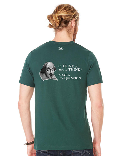 The Question - Men's Edition - Forest Green Heathered - Back