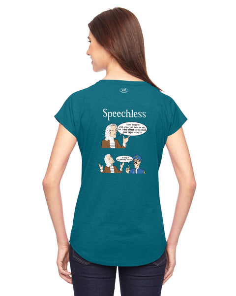Speechless - Women's Edition - Galapagos Blue Heathered