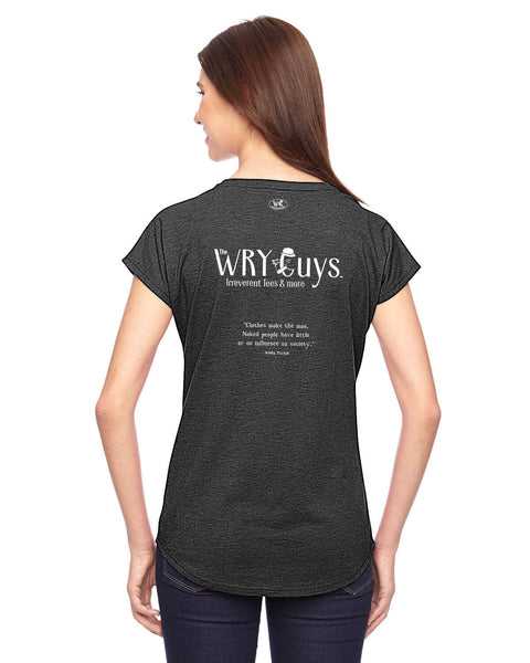 The Wry Guys - Women's Edition - Dark Grey Heathered