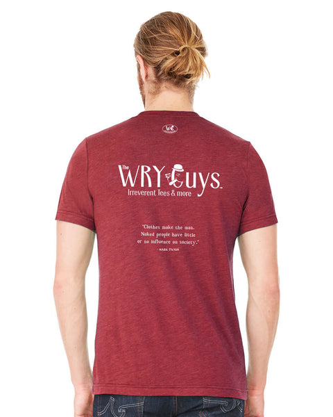 The Wry Guys - Men's Edition - Cardinal Red Heathered