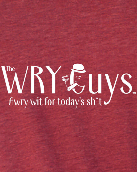Oscar Wilde on True Friends - Men's Edition - Cardinal Red Heathered - Back