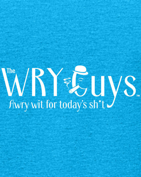 The Wry Guys - Women's Edition - Caribbean Blue Heathered