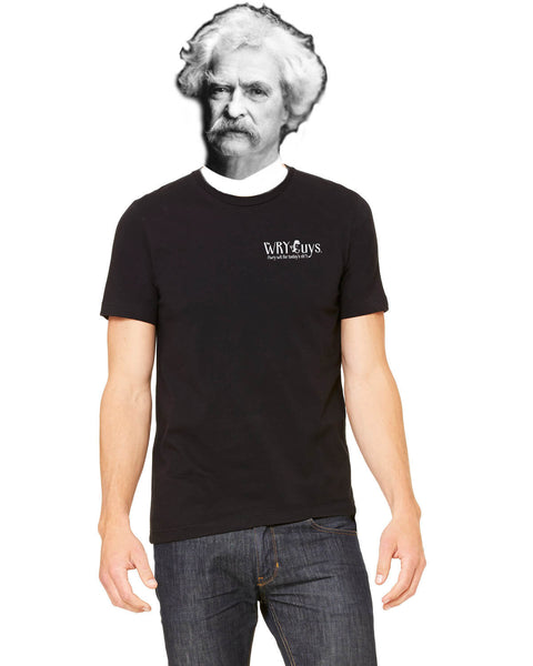 Mark Twain on Congressmen - Men's Edition - Black - Back