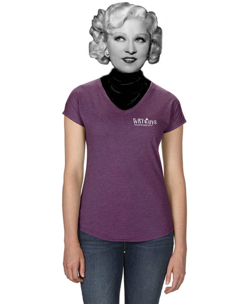 Mark Twain on Dogs - Women's Edition - Aubergine Heathered