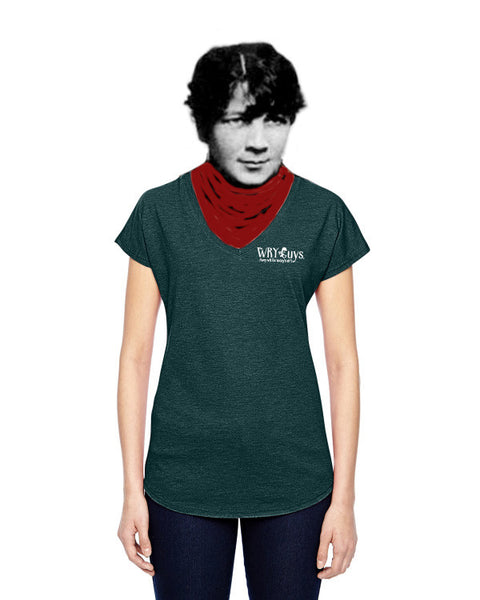 Oscar Wilde on Simple Tastes - Women's Edition - Dark Green Heathered