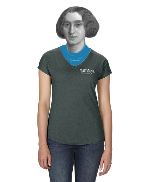 Oscar Wilde on Quotation - Women's Edition - Dark Grey Heathered