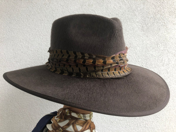 Fedora in Chocolate Brown