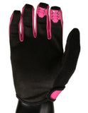 PINK HEX LIGHTWEIGHT BMX | MTB GLOVES