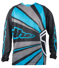 BLUE LONG SLEEVE RAYS BMX | MOUNTAIN BIKE JERSEY