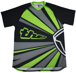 GREEN SHORT SLEEVE RAYS BMX | MOUNTAIN BIKE JERSEY
